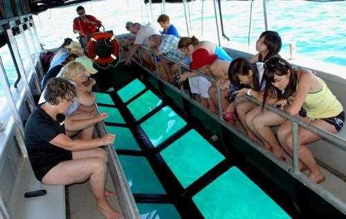 Un giro sul Glassboat