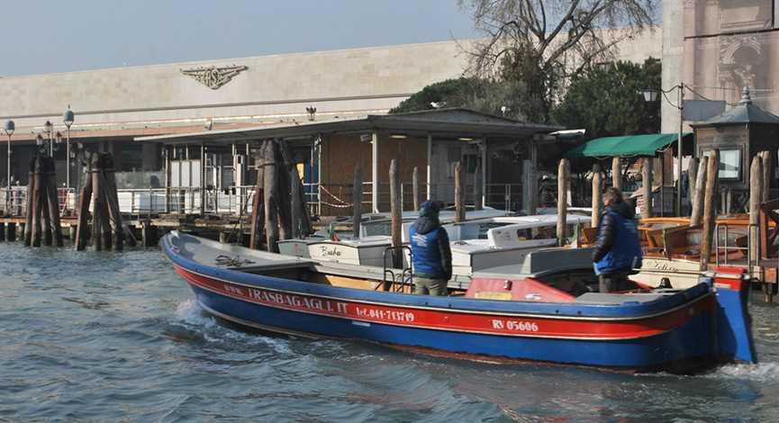 Les transports à Venise