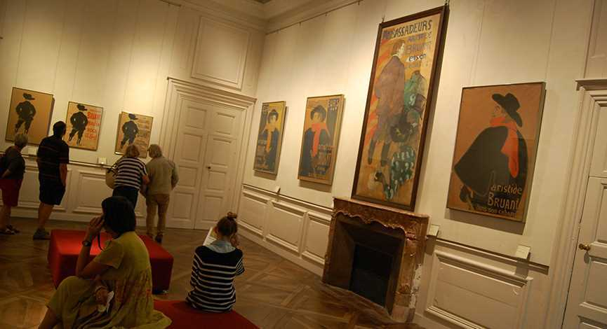 The museum Toulouse-Lautrec in Albi