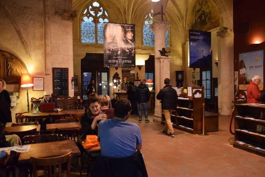 Saint-Siméon : Un cinéma dans une église