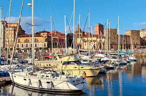 Avilés, Gijón, Oviedo: nuestras ciudades