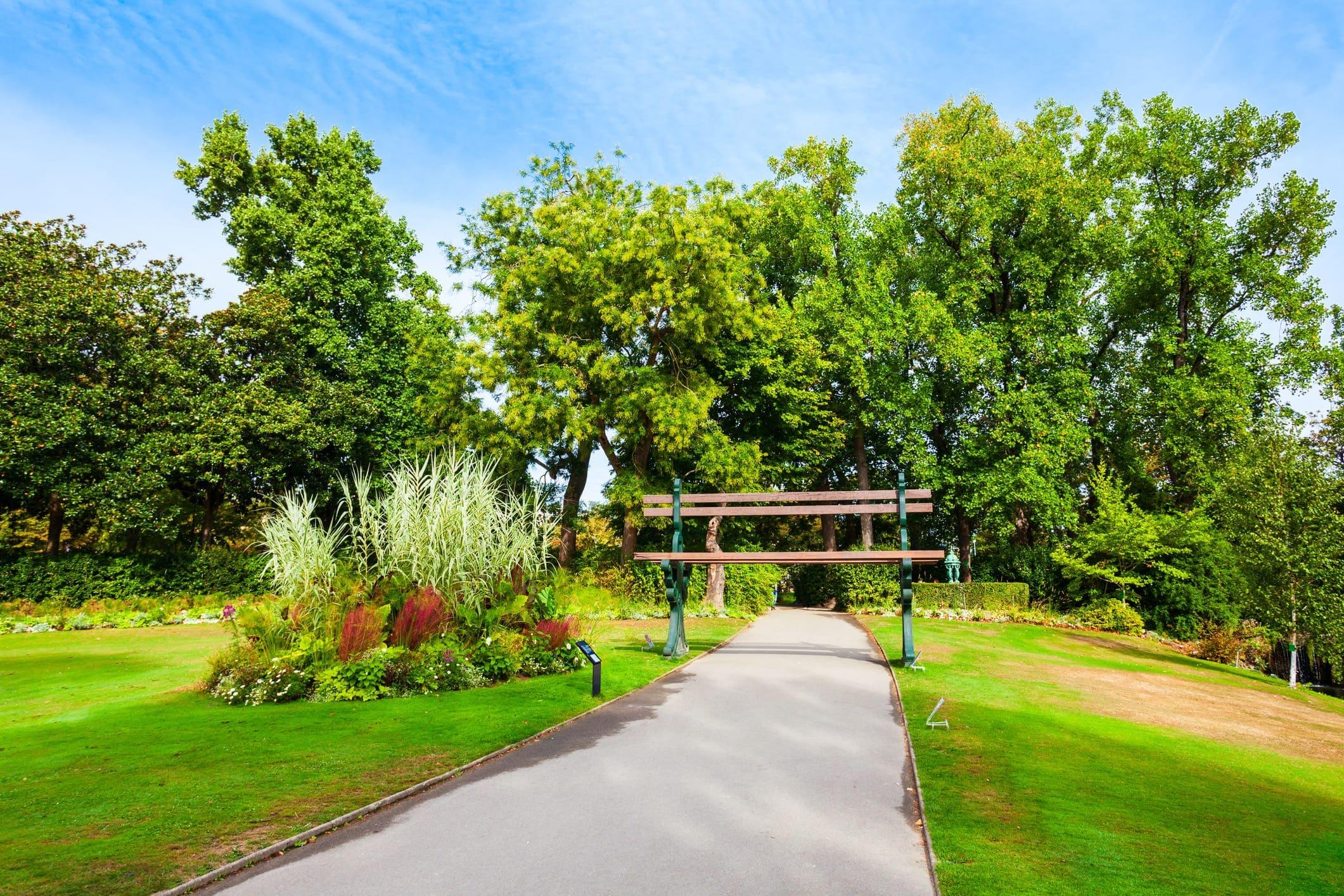 El Jardín de las Plantas de Nantes