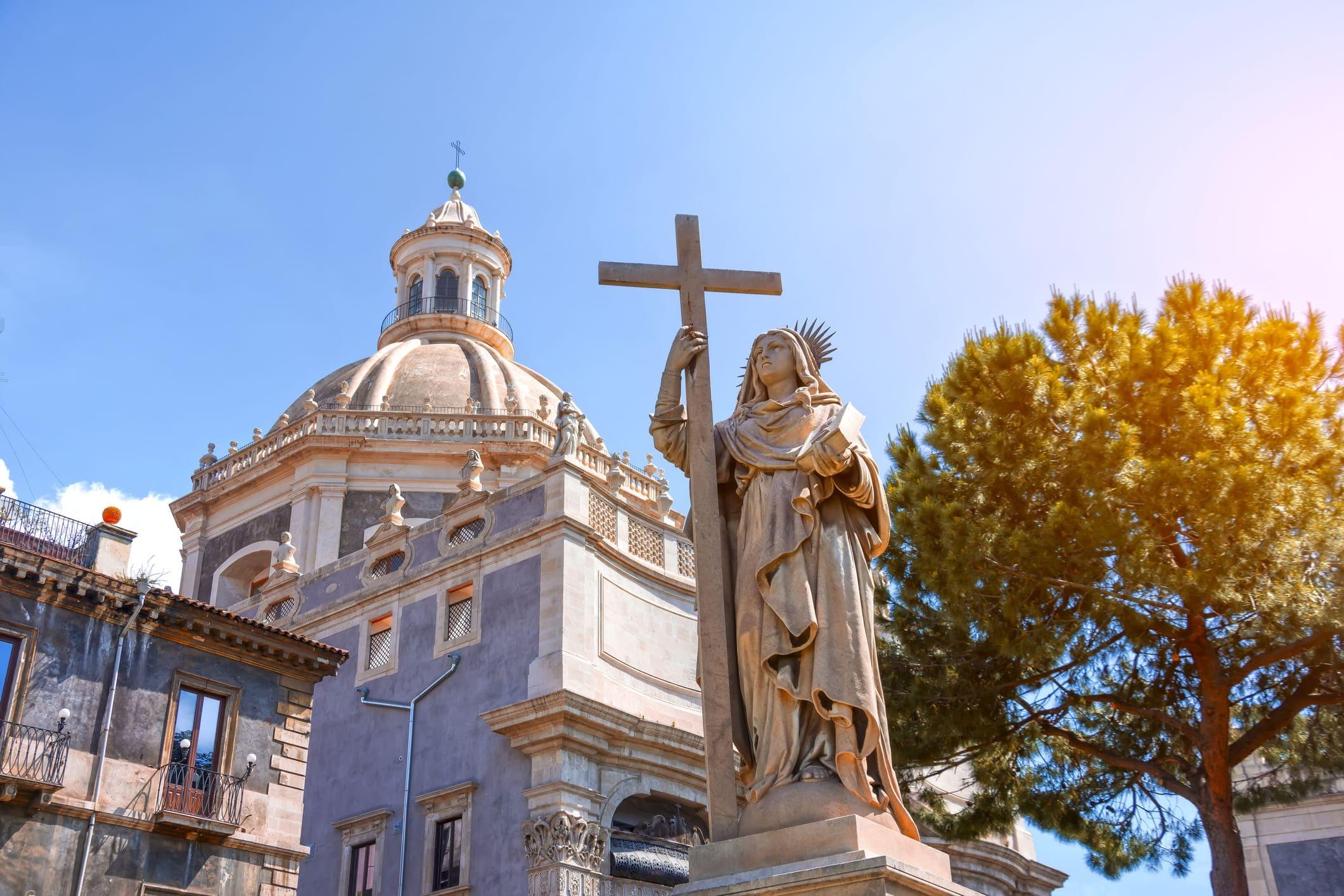 Fête de Sant'Agata, Sainte patronne de Catane