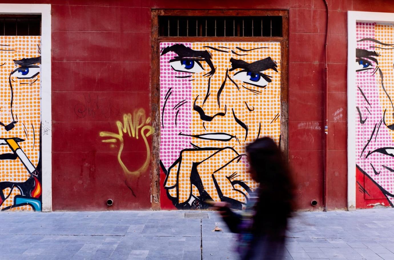 Arte urbana a Saragozza: un museo in strada