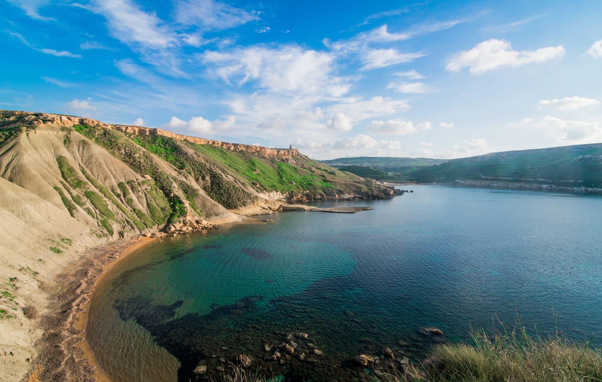 ¿Dónde bañarse en Malta?