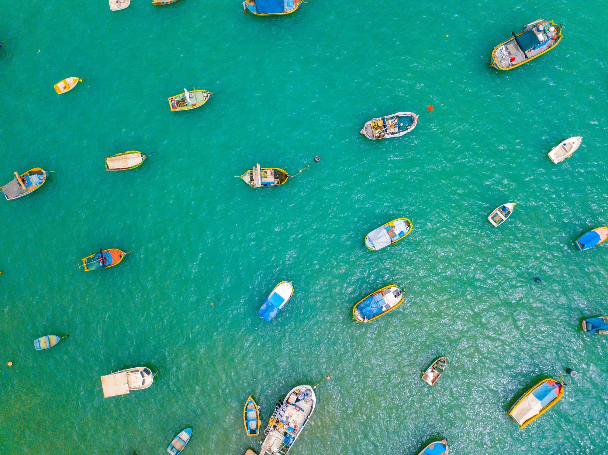 Marsaxlokk, pueblo de pescadores