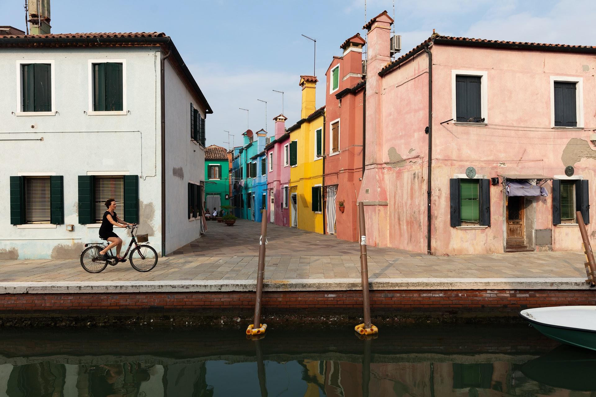 Descubrir Venecia de una manera atípica.