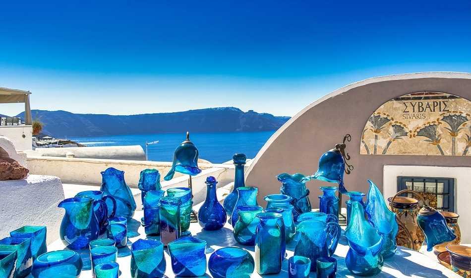 Santorini: los mejores mercados y tiendas artesanales