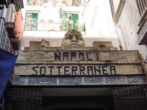 main entrance underground naples