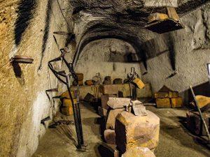 abandoned bombs underground-naples