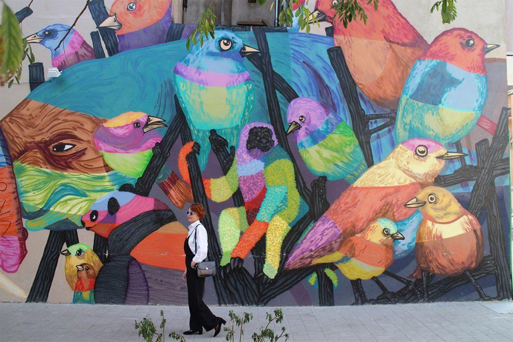 la gache street art lyon