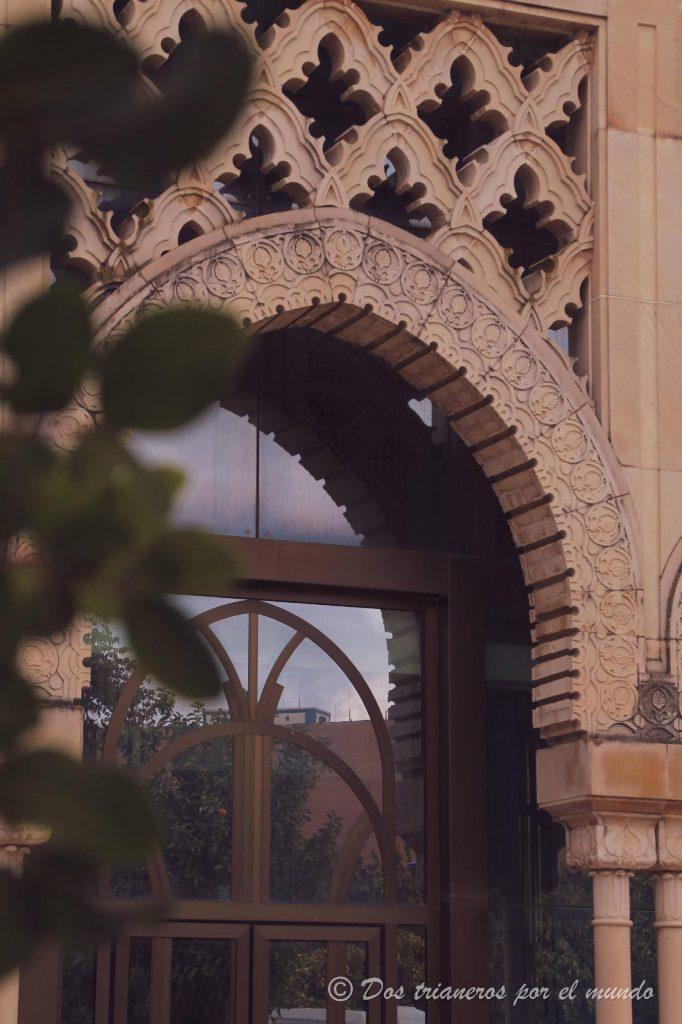 detalle Pabellón Marruecos Sevilla