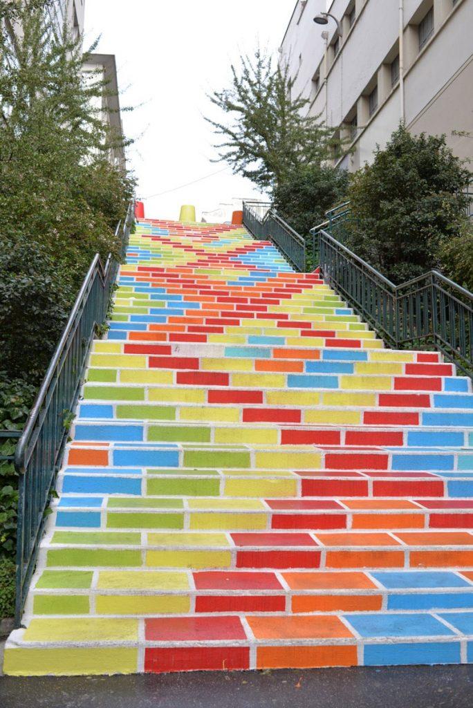 escalier prunelle