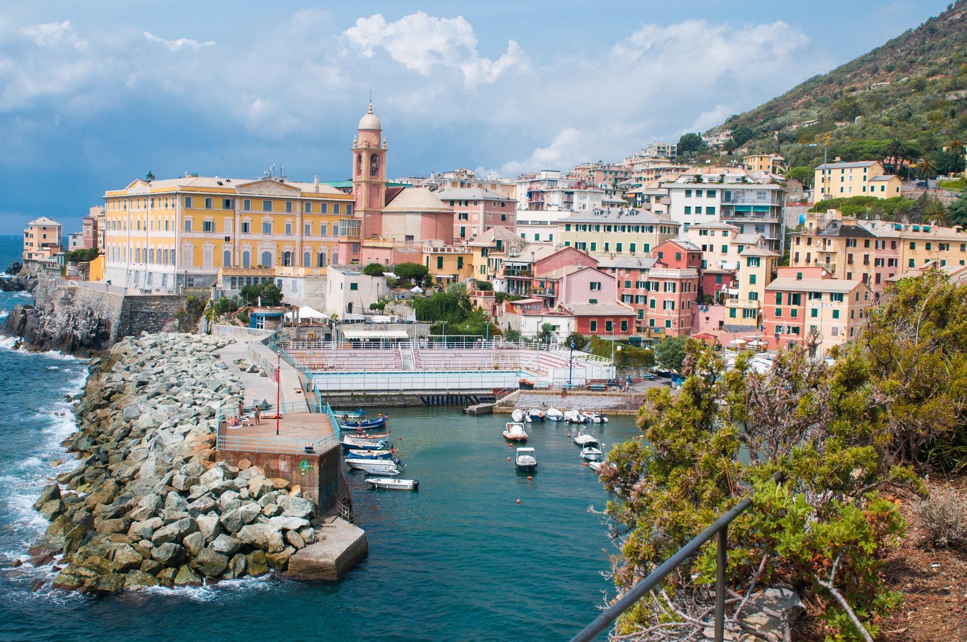 The beauty of Genoa