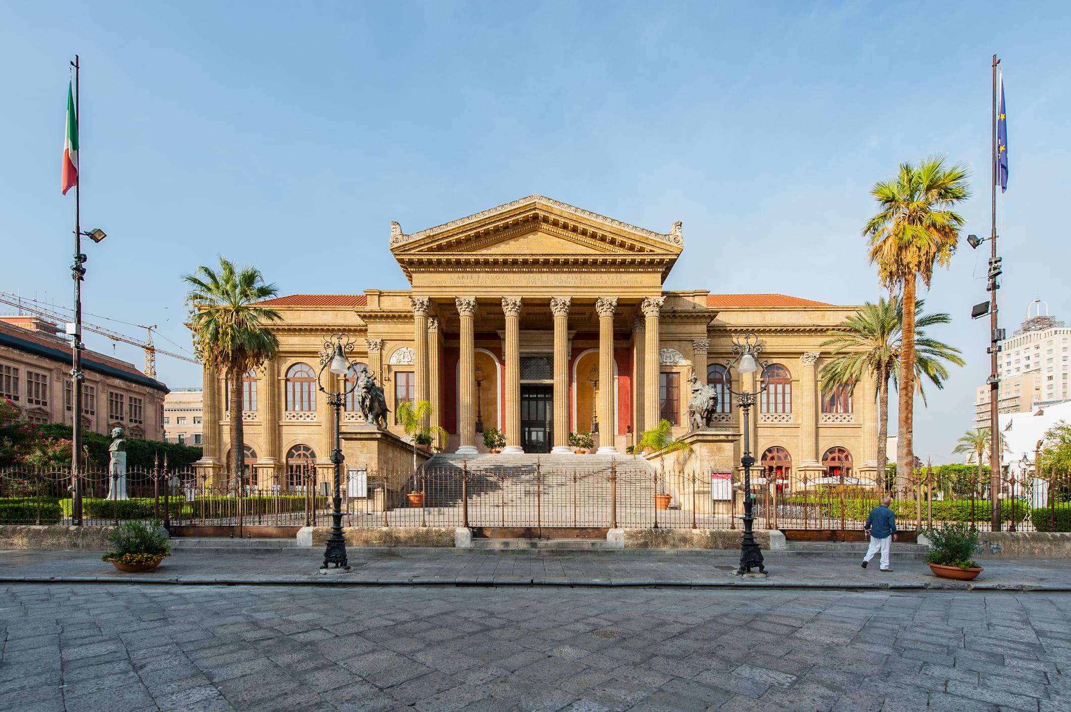 Palermo y su teatro: la ciudad que