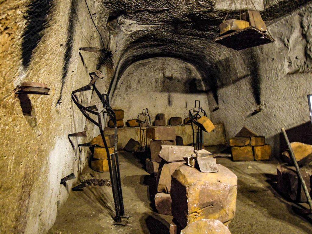 resti guerra Napoli sotterranea