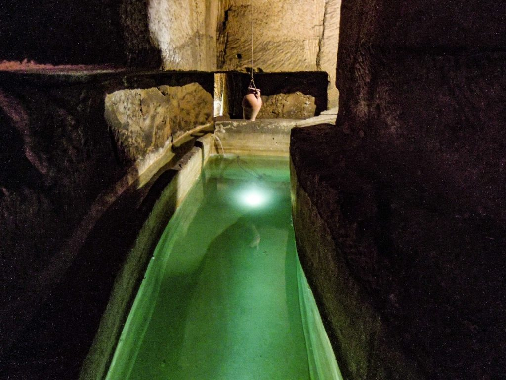 dispensa monastero santa chiara napoli sotterranea