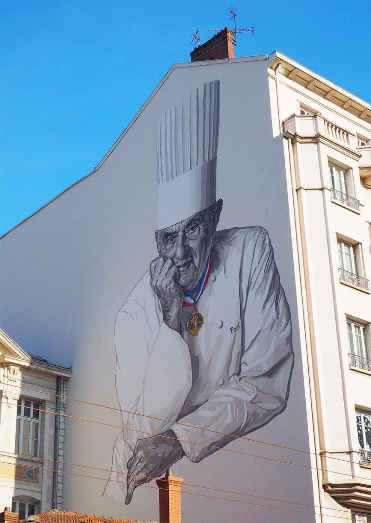 monsieur paul streetart lyon