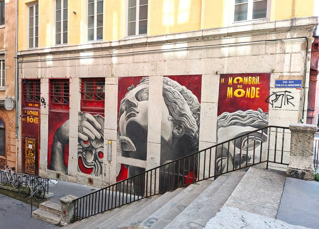 muse de la comedie street art lyon
