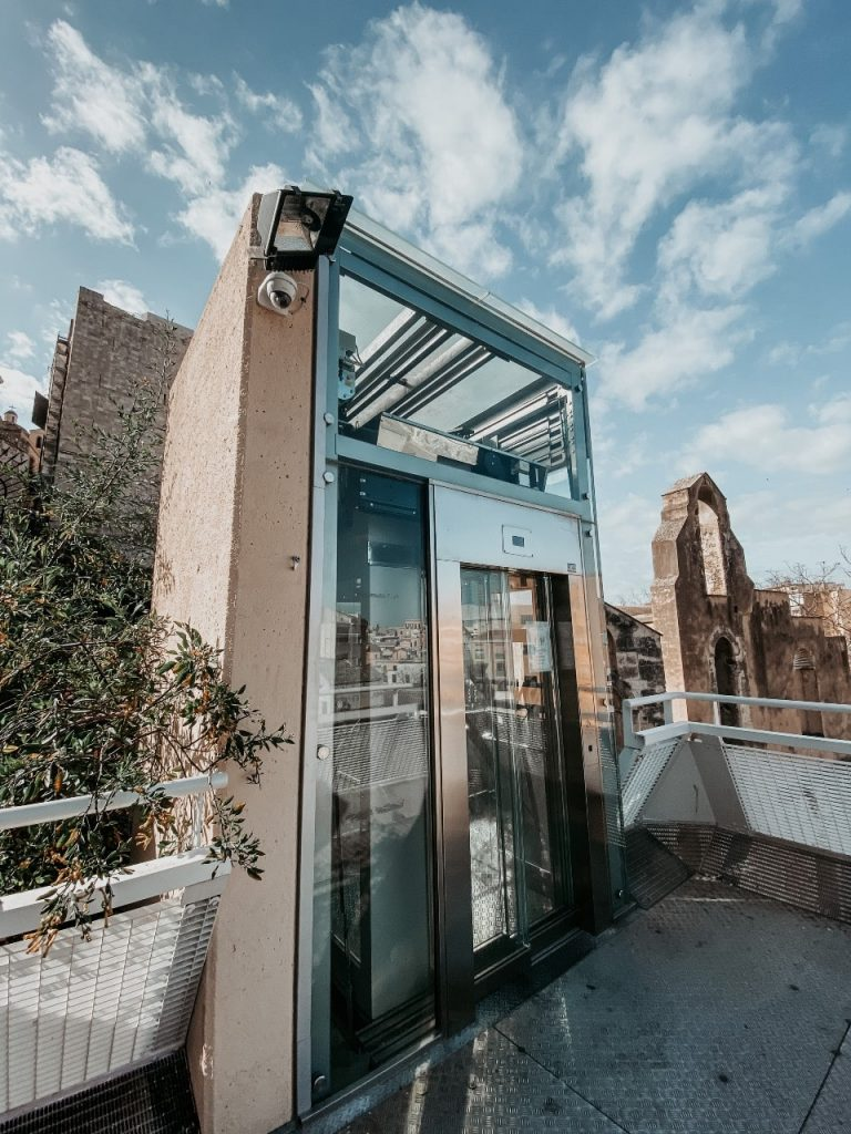 ascensore panoramico cagliari