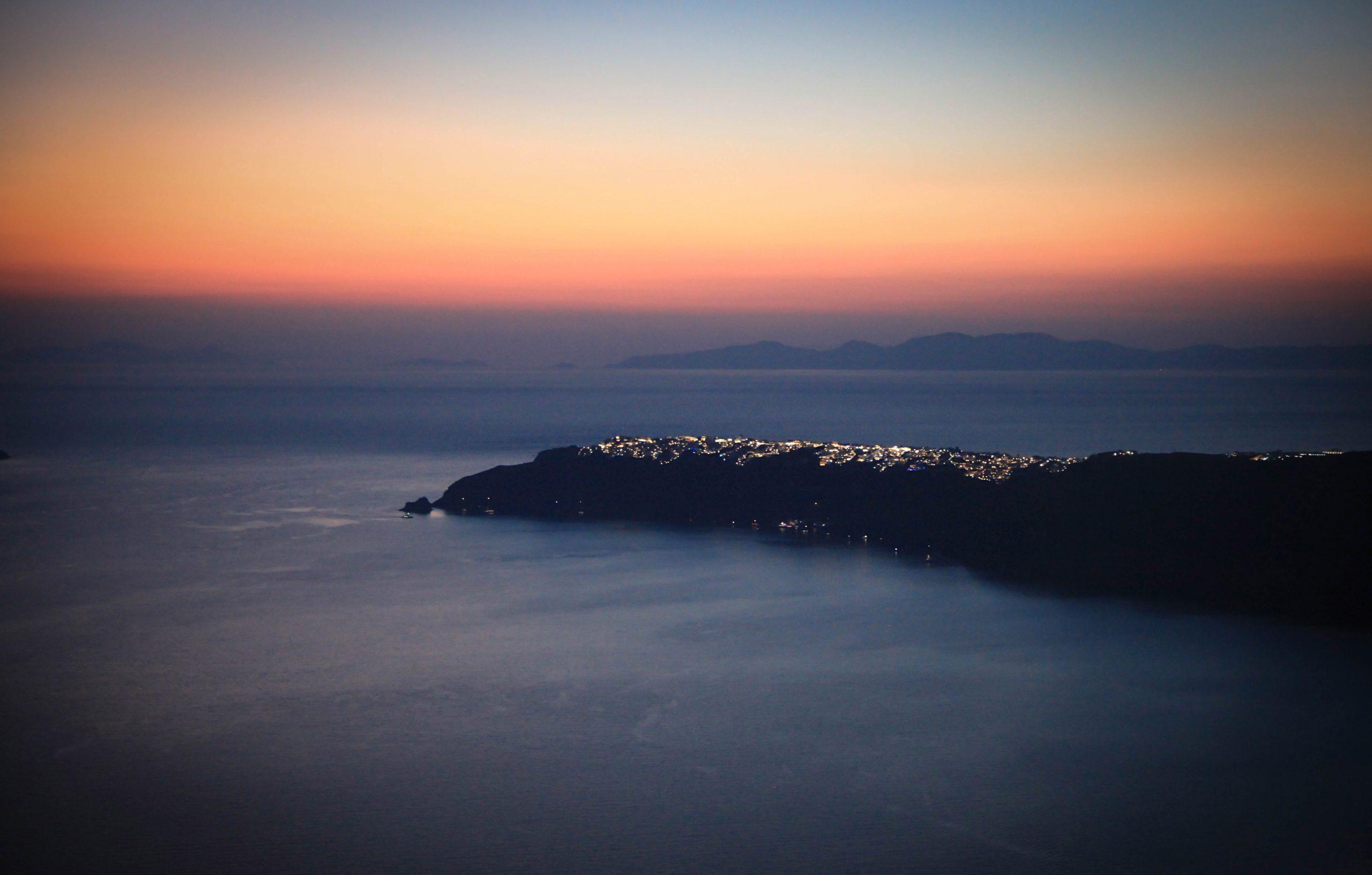 Santorini: una isla en constante cambio