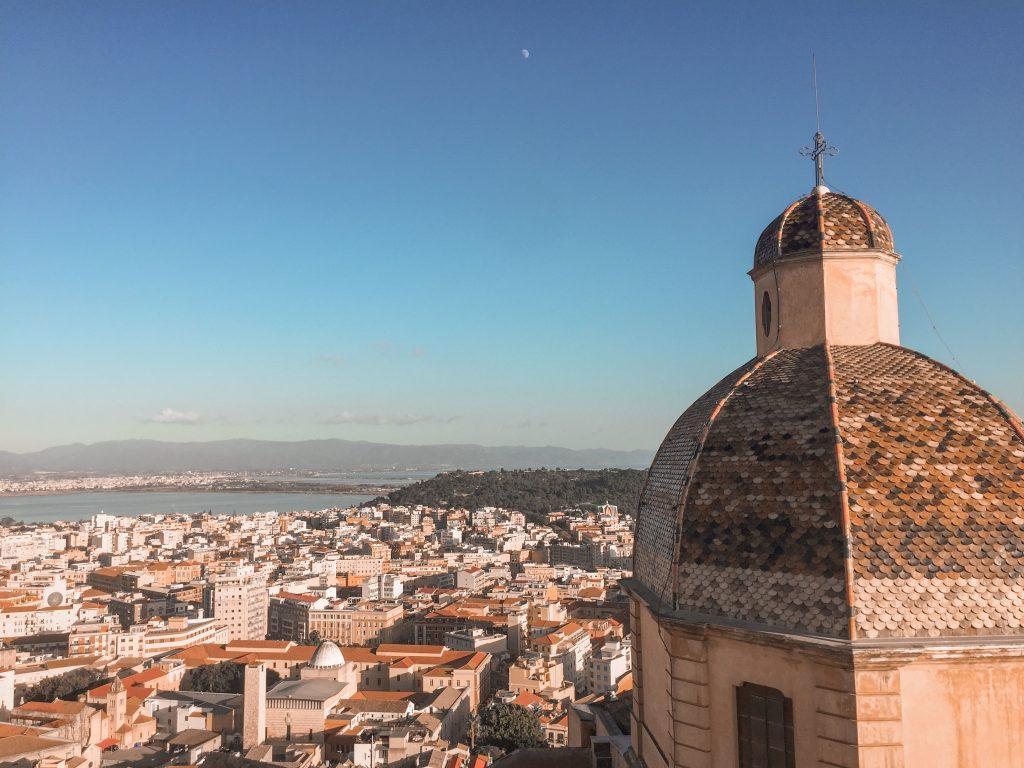 vista cattedrale santa maria cagliari