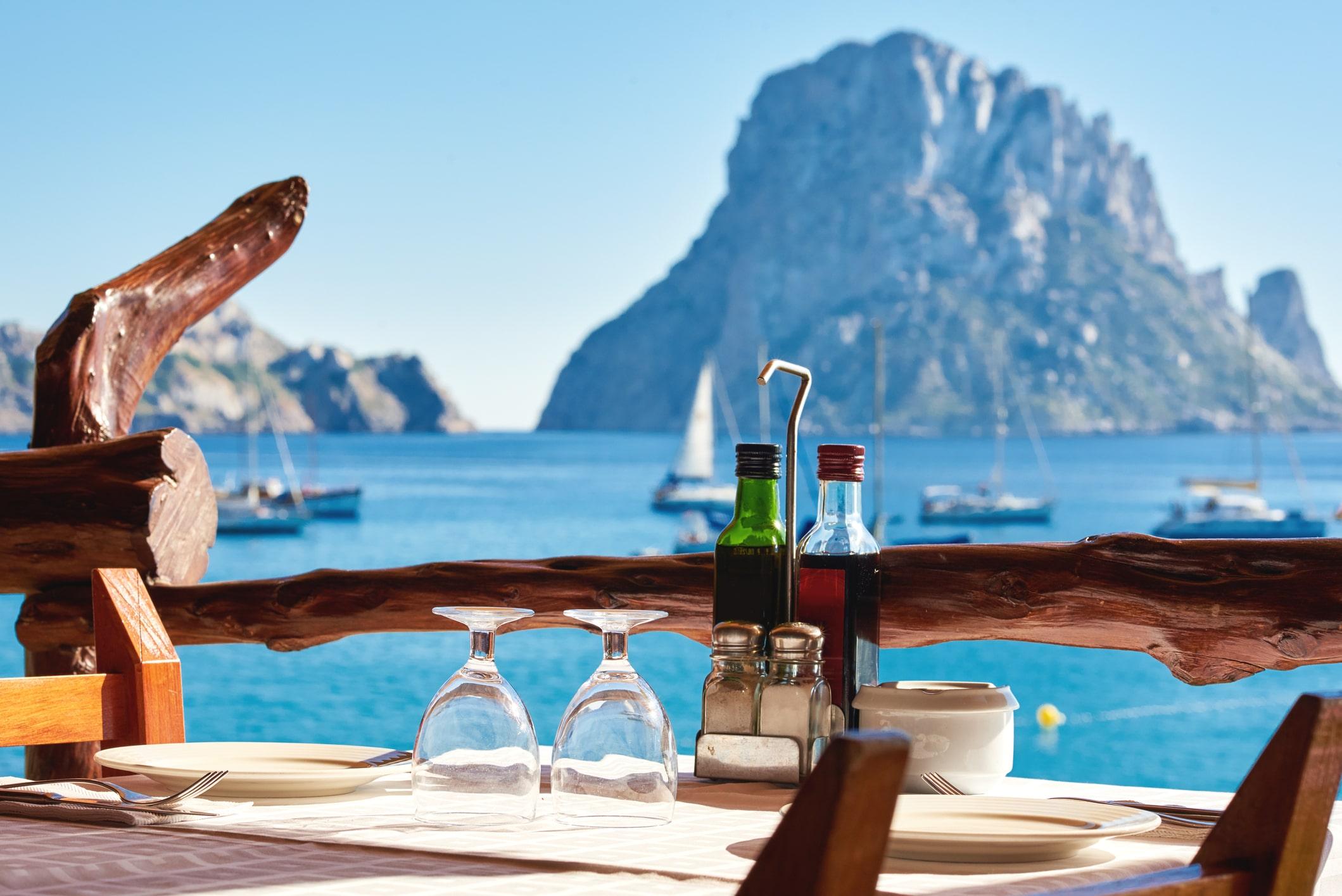 À table, à Ibiza !