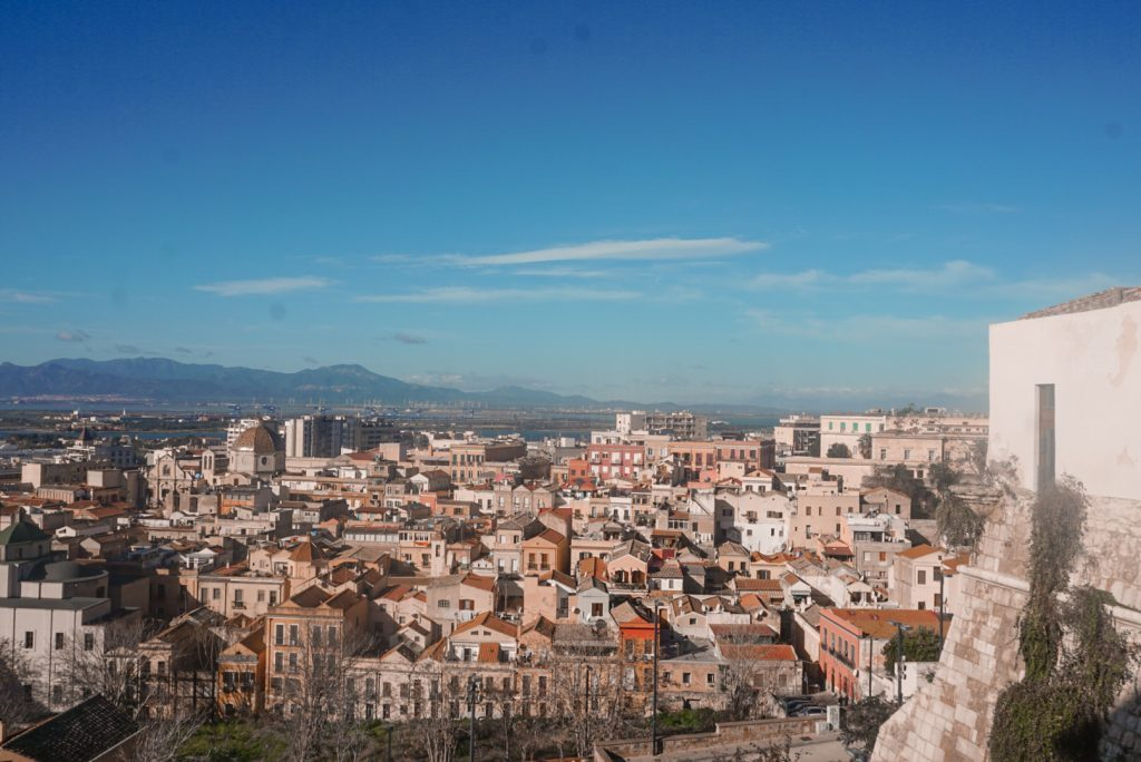 panorama bastione santa croce cagliari
