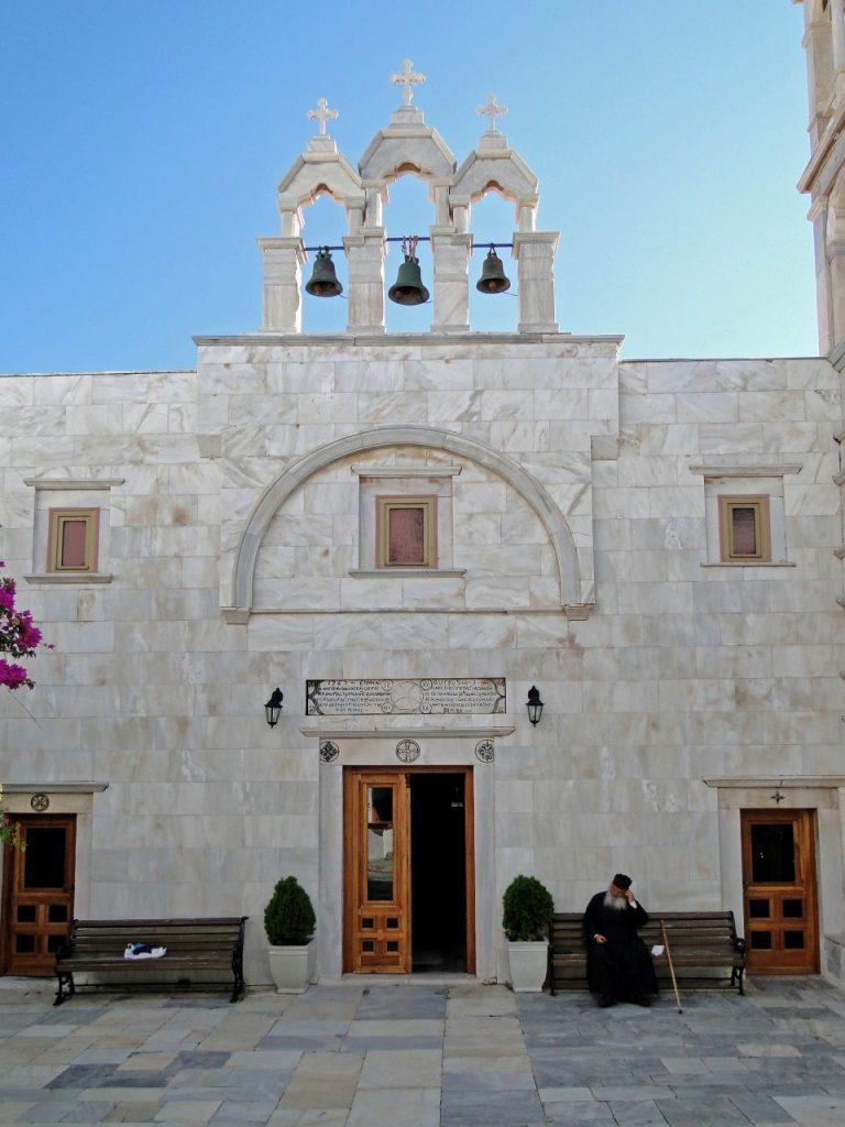 Mykonos Ano Mera Monastery Tourliani