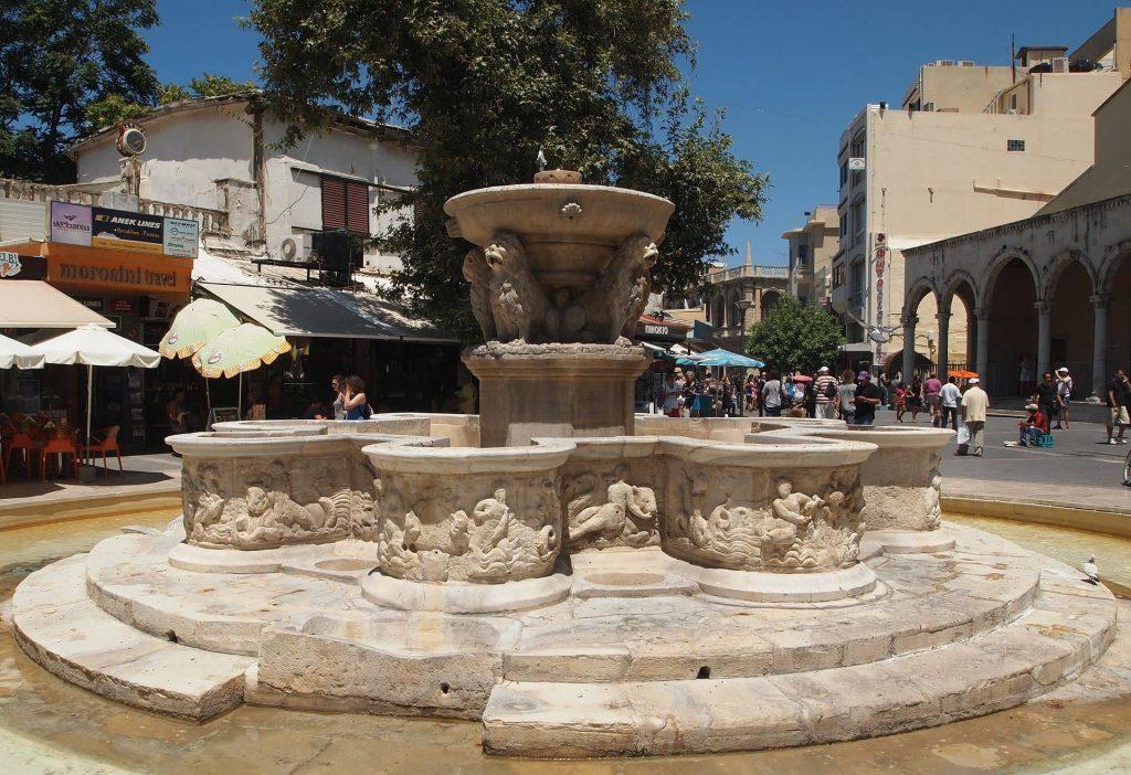 morosini fountain heraklion