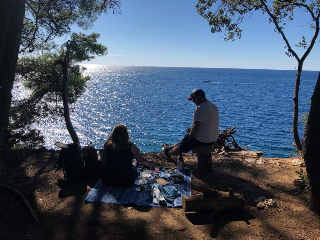 lokrum island picnic